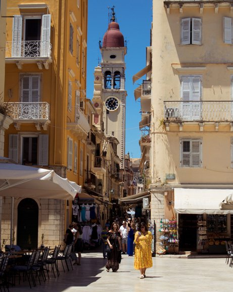 Corfu, Greece, travel photography